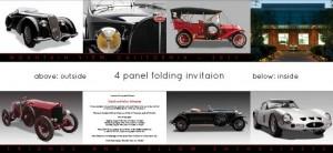 Mozart Car Museum - Grand Opening Invitation