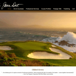 Joann Dost Fine Art Golf Photography Website