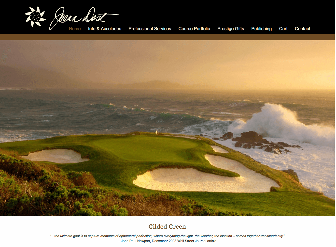 Joann Dost Fine Art Golf Photography