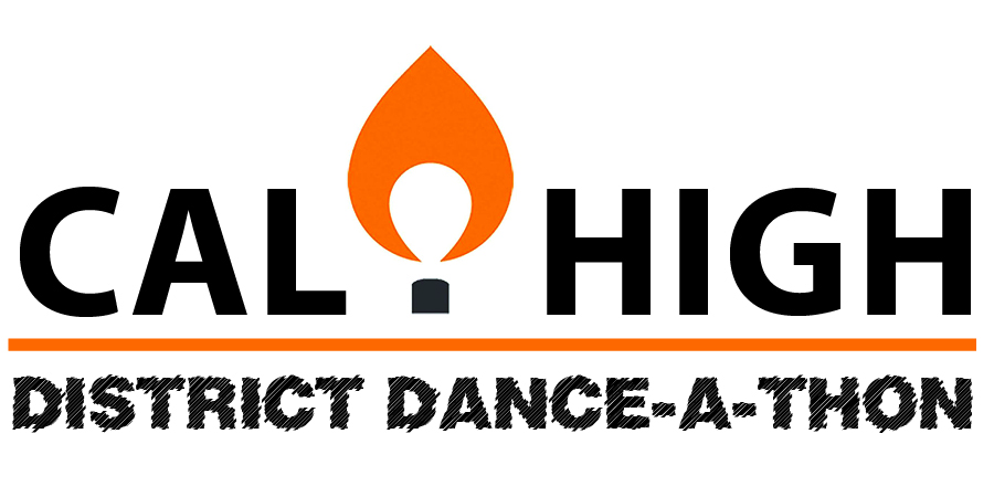 Cal High District Dance-a-thon Logo