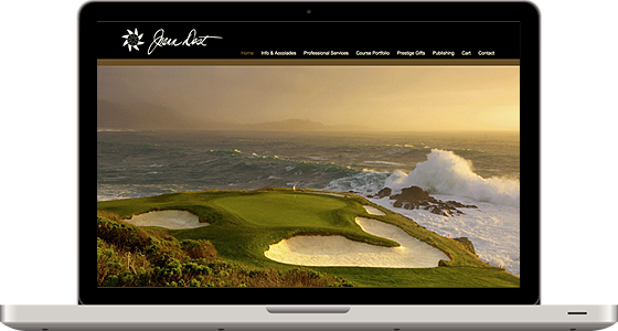 Joann Dost Golf Editions - Monterey Web Design