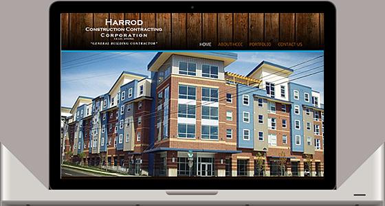 Harrod Construction Contracting Company - Monterey Web Design
