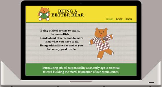 Children's Ethics Website - Monterey Web Design