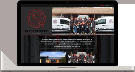 Reade Electric Website - Monterey Web Design
