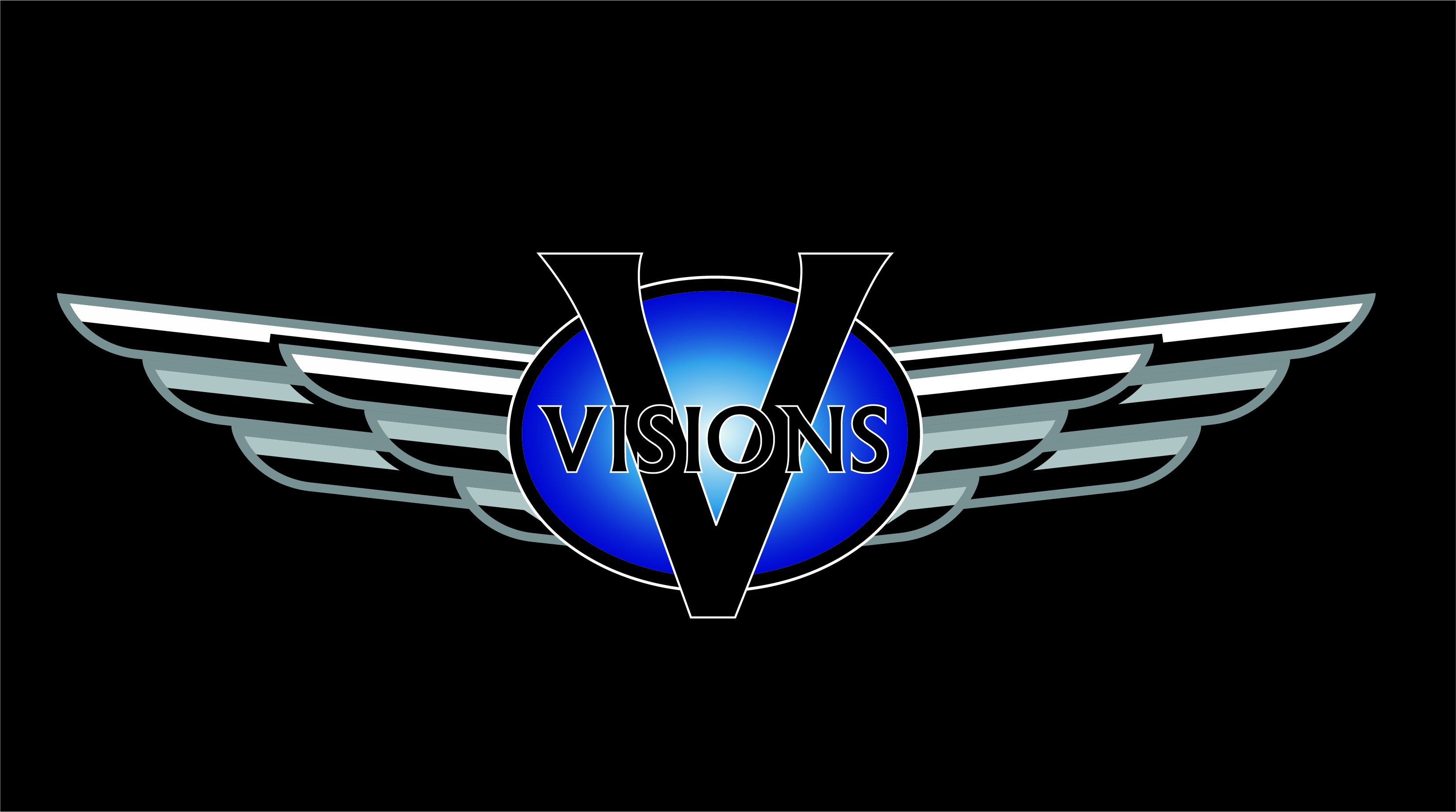 Visions Design Center 10 Year Anniversary Logo