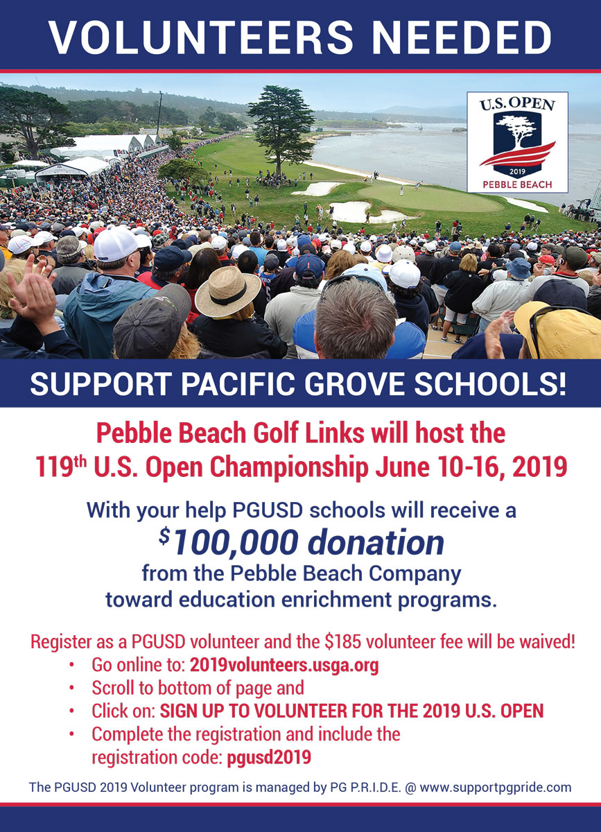 Pebble Beach US Open 2019