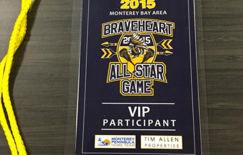 Lacrosse VIP Credential
