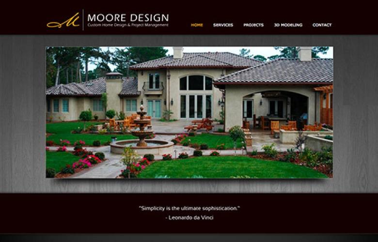 Moore Design – Custom Home Design