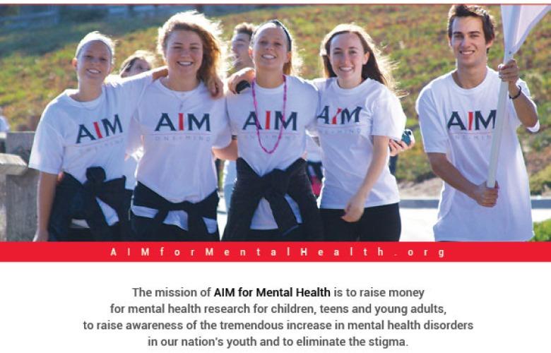 AIM for Mental Health Carmel Magazine Full Page Ad