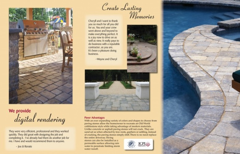 Stowe Contracting – Trifold Brochure