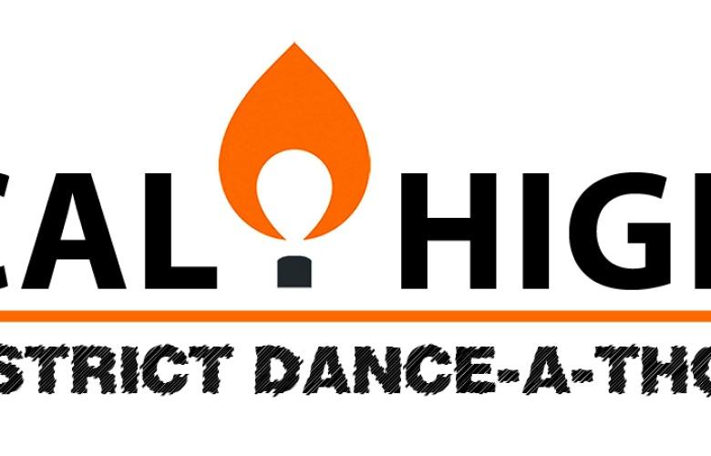 Cal High District Dance-a-thon Logo