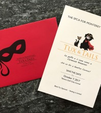 Monterey County SPCA Tux & Tails Invitation