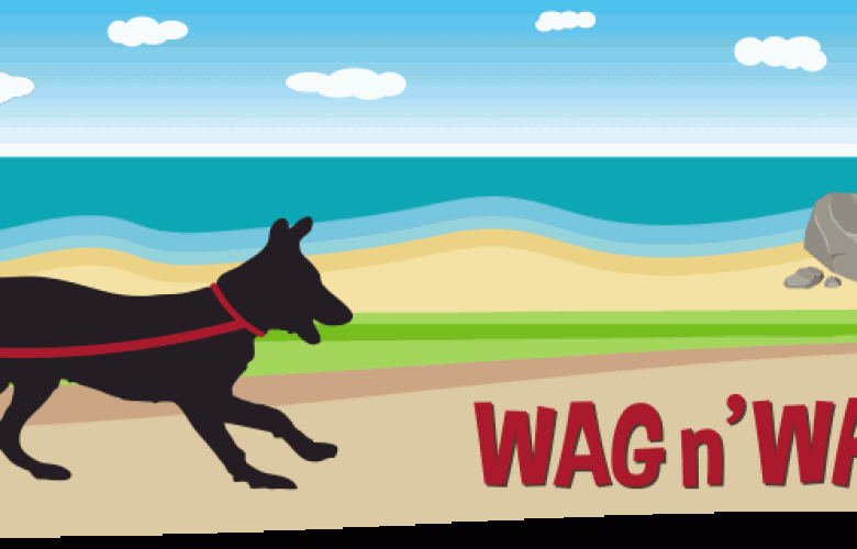 Wag n' Walk SPCA of Monterey County Logo
