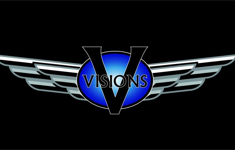 Visions Design Center 10 Year Anniversary Logo