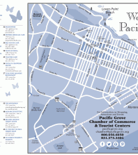 Pacific Grove Walking Map