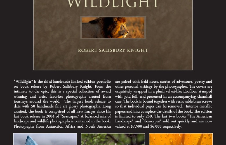 Wildlight Handmade Fine Art Photography Book